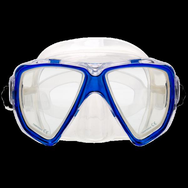 Маска Marlin Start Blue/Clear