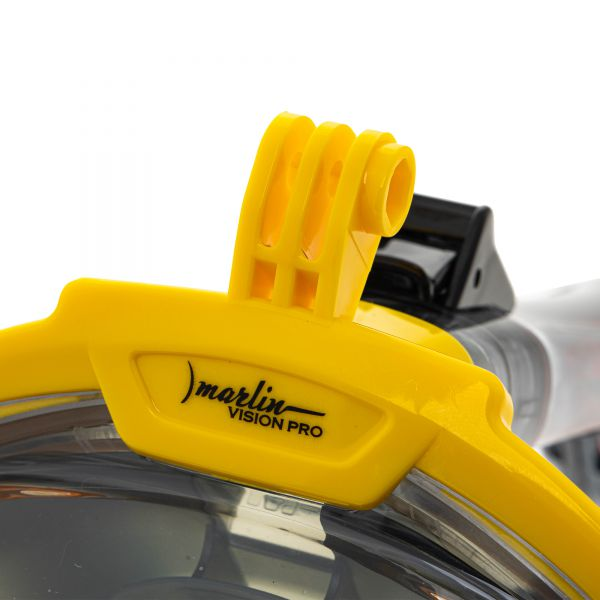 Маска Marlin Vision Pro GoPro Yellow/Grey