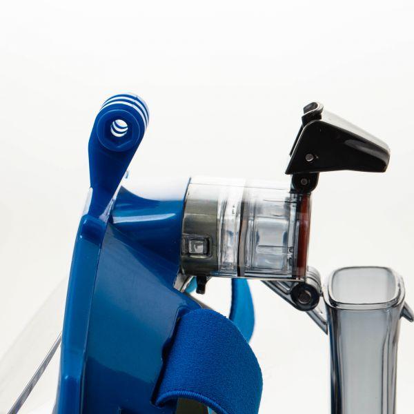 Маска Marlin Vision Pro GoPro Blue/Grey