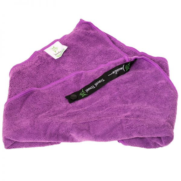 Полотенце Marlin Microfiber Terry Towel Dark Purple