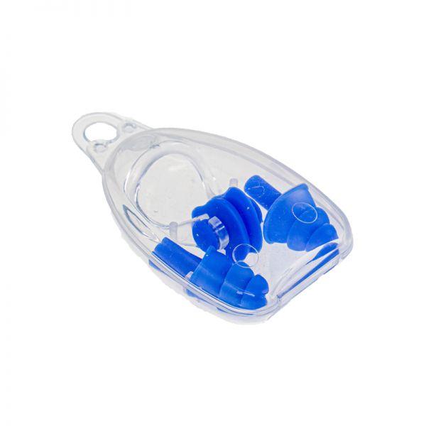 Комплект беруши + зажим для носа Marlin Swim