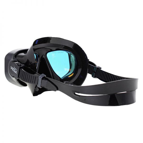 Маска Marlin Vega Black с просветленными стеклами
