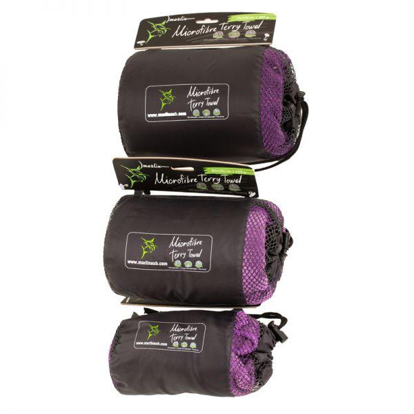 Полотенце Marlin Microfiber Terry Towel Dark Purple