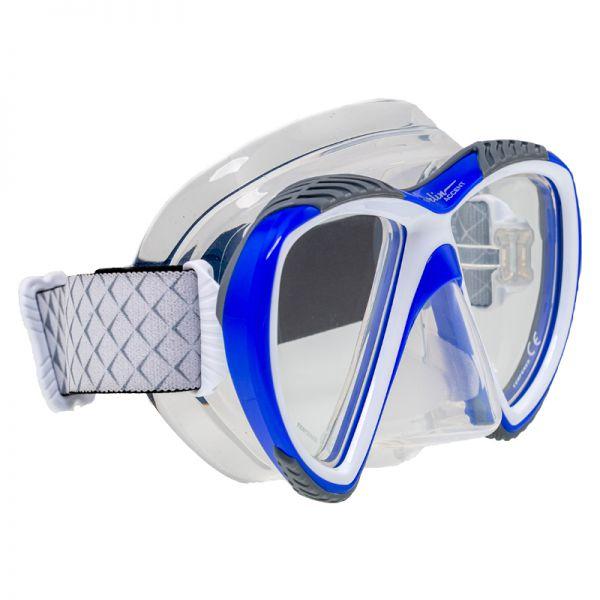Маска Marlin Accent Blue/white/trans