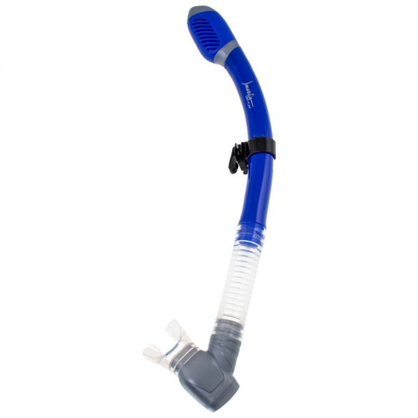 Трубка Marlin Dry Flap Blue/trans