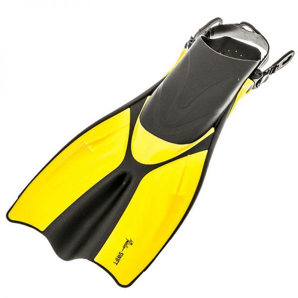 Ласты для бассейна Marlin Swift Yellow