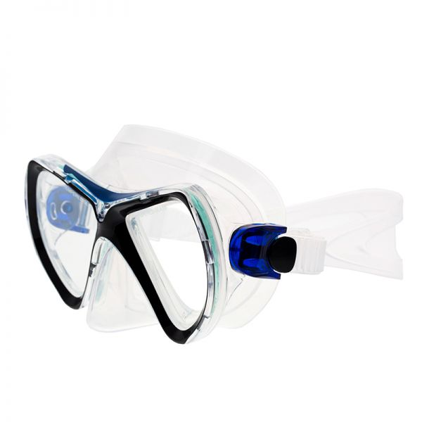 Маска Marlin Goa Blue/black/trans
