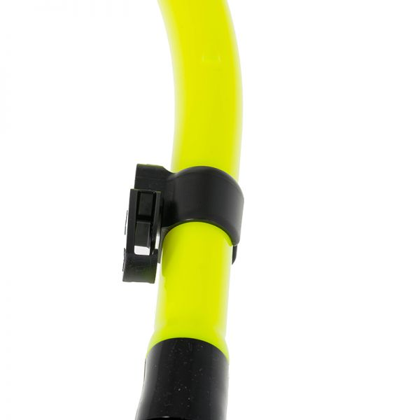 Трубка Marlin Flash Yellow прямая гофра