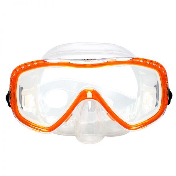 Маска Marlin Look Orange/Trans