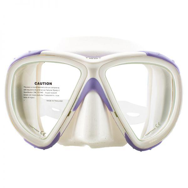 Маска Marlin Twist Purple/White