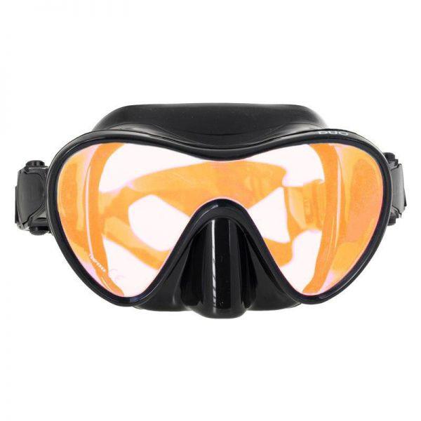 Маска Marlin Frameless Duo с просветленным стеклом Orange