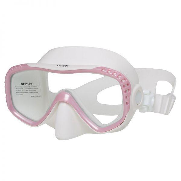 Маска Marlin Look Pink/White