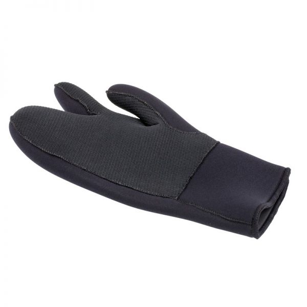 Перчатки трехпалые Marlin Nord Black 7 мм
