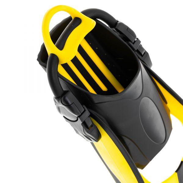 Ласты Marlin Scuba Yellow (Elastic Bungee Strap)
