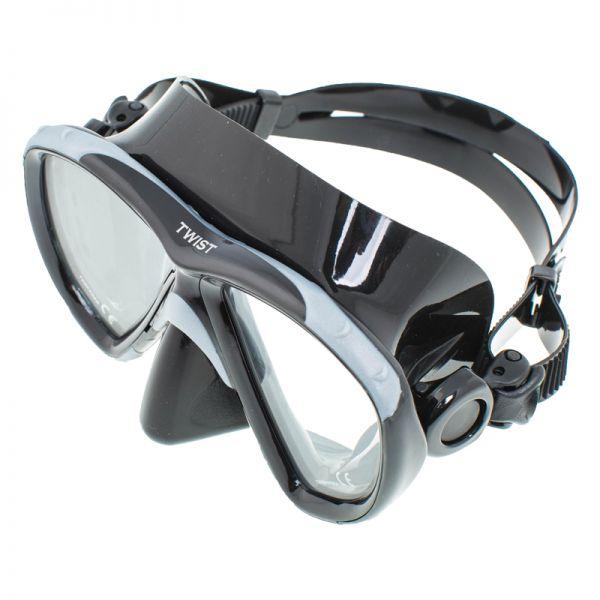 Маска Marlin Twist Black/Silver